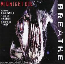 Midnight Oil 1996 Breathe Original Promo Poster