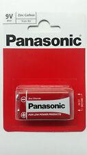 Genuine Panasonic Heavy Duty 9V Block Zinc-Carbon Battery 6F22 Uk Seller Offer