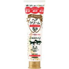 YANAGIYA☀Japan-PREXCEED Hair Cream Horse oil Skin care 140g