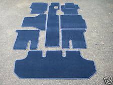 Car Mats to fit Mitsubishi Delica L400 7 Seater in Navy