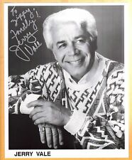 Jerry Vale-signed photo-22