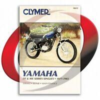 1977-1978 Yamaha DT400 Repair Manual Clymer M412 Service Shop Garage