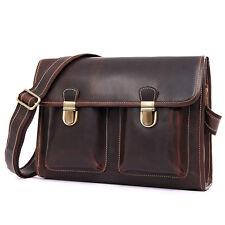 Leather Satchel Bag.Leather Messenger Bag.Leather Briefcase.Macbook carry bag