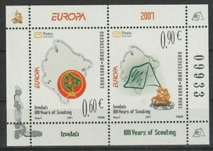 Europa Cept 2007 Montenegro Block 6 **