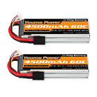2pcs 14.8V 4S 4500mAh 60C Traxxas Lipo Battery for RC Car Truck Drone Helicopter
