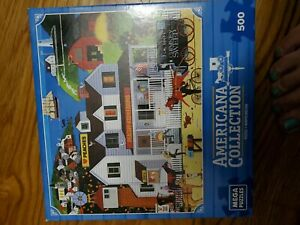 Peachy Keen Farms Mega Brands Jigsaw Puzzle by Jack Allen Pre Owned