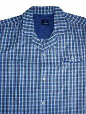 Mens Jockey Short Pyjama Nightwear Lounge Wear Blue S