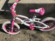 "HELLO KITTY 14"" GIRLS PINK BICYCLE  By Dynacraft Local Pick Up"