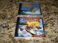 Speed Boat Attack (PC, 1997) & TNN Outdoors Bass Tournament '96 - New and Sealed