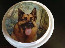 Danbury Mint - You Called? German Shepherd plate by J.L. Fitzgerald