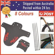 Cycling Cycle Bike Bicycle Front Fender Mudguard Mud Marsh Guard Set