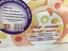 27 Neocate Splash Orange Pineapple Case Juice Boxes hypoallergenic drink AHEI