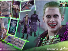 HOT TOYS 1:6 SCALE JOKER PURPLE COAT FROM SUICIDE SQUAD NEW SEALED IN SHIPPER