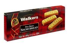 6 Scatole x 150g Walkers biscotti Burro Bastoncini Shortbread Scozia Finger