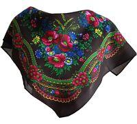 Stylish small Slavonic Russian scarf shawl folk style new Autumn Collection