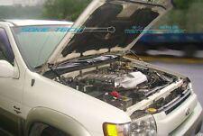 Black Strut Lift Hood Shock Damper Kit Stainless for 1997-2003 Infiniti QX4 SUV