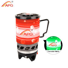 APG Outdoor Cooking System Camping Stove Heat Exchanger Pot Propane Gas Burners