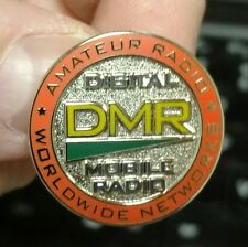 Amateur Radio Digital Mobile Radio (DMR) Lapel Pin LIMITED EDITION