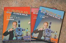 coffret DVD LES PREMIERS PAS du CINEMA : son / couleur - VF