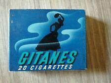 Ancien Paquet Cigarettes Gitanes Vide