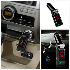 New USB Auto Car Kit Charger Wireless Bluetooth MP3 FM Transmitter Handsfree