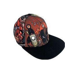 Marvel Snapback Deadpool Black Comic Book Graphic Adjustable Hat  Fits All