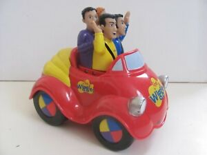 The Wiggles Original Toot Toot Musical Big Red Car Spin Master 2003