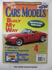 Hot Wheels Toy Cars & Models Magazine September 2004 Special Foreign Model Issue