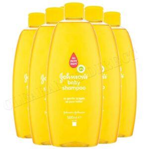 JOHNSONS Baby Shampoo Yellow 500 ml - 6 Pack