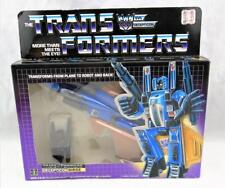 Transformers Original G1 1985 Dirge Complete w/ Box and Bubble Sealed Stickers