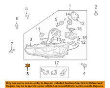 MITSUBISHI OEM 08-17 Lancer-Headlamp Assembly Grommet MN167828