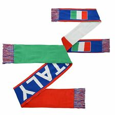 Outerstuff International Soccer Men's Italy 3 Flag Scarf