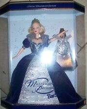 1999 Holiday Millennium Princess Barbie Star Backround EARLY EDITION
