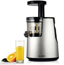 Hurom HU 700 Slow Juicer Premium HH Series Silver Chrome HH-DBG06