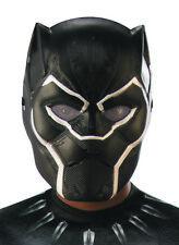 Childs Black Panther Boys Movie Half Face Superhero Costume Mask