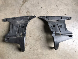 01-04 VOLVO S60R REAR RIGHT & LEFT BUMPER SUPPORT BRACKET MOUNT 09178246 45 OEM