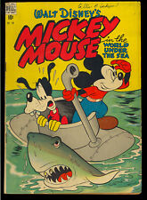 Four Color #194 (Mickey Mouse) Nice Walt Disney Golden Age Dell Comic 1948 VG-