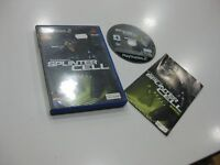 Splinter Cell TOM CLANCY'S PS2 Ausgabe Spanisch