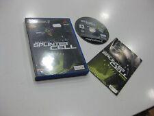 SPLINTER CELL TOM CLANCY'S  PS2 EDICION ESPAÑOLA