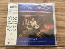 Prince - Get Off Remix EP - 1991 - Japan CD - WPCP4630 - MINT / SEALED