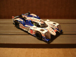 TOMY AFX H.O. SCALE SET ONLY SLOT CAR TOYOTA TS040 #8 BLUE/WHITE NEW