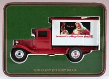 Ertl 1930 Chevrolet Delivery Truck Coca-Cola Coke Christmas 1/43 New in Tin
