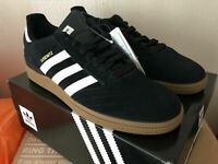 Adidas Busenitz Pro Shoes - Core Black / Run White / Metallic Gold - Size UK10