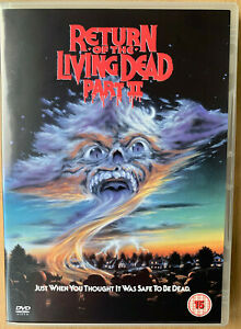 Return Of The Living Dead 2 DVD 1987 Cult Horror Zombie Classic