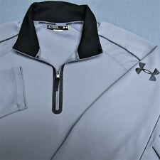 UNDER ARMOUR  1/4 ZIP POLY GOLF PULLOVER--LOOSE--XL--TOP SOTL:ESS QUALITY!!