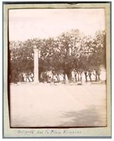 Algérie, Cherchell, Antiquité sur La Place Romaine Vintage citrate print. شرشال