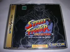 Sega Saturn Street Fighter Collection Japan SS