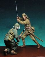 Resin 1/35 Pacific War WWII Japan VS US Unpainted Unassembled BL319