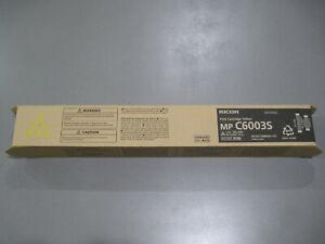 Genuine RICOH MP C8003S YELLOW Print Toner Cartridge 841866, Brand New