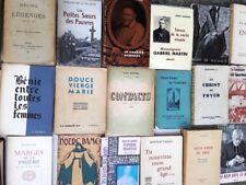 Lot de 25 livres sur la religion catholique sauf missels (années 1923-1975)